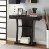 Coaster Fine Furniture Cappuccino Rectangular Console and Sofa Table