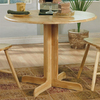 Coaster Fine Furniture Natural Round Dining Table
