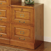 Coaster Fine Furniture Oak 2-Drawer File Cabinet