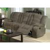 Coaster Fine Furniture Charlie Brown Sage Velvet Dual Reclining Sofa