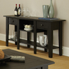 Steve Silver Company Liberty Black Oak Rectangular Console and Sofa Table