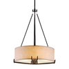 Philips Urban Oasis 21.5-in W Bronze Luster Hardwired Standard Pendant Light with Paper Shade