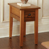 Steve Silver Company Liberty Oak Rectangular End Table