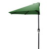 Jordan Manufacturing Green Market Umbrella with Crank (Common: 3-ft 10-in x 7-ft 2-in; Actual: 3-ft 10-in x 7-ft 2-in)