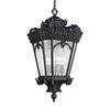 Kichler Lighting Tournai 33.5-in Textured Black Outdoor Pendant Light