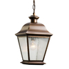 Kichler Lighting Mount Vernon 18.5-in Olde Bronze Outdoor Pendant Light