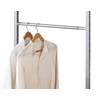 space-pro 52-in L x 1-in H x 1-in W Extendable Metal Closet Rod with Hardware