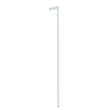 space-pro Steel 80.7-in x 1-in White Upright or Stand