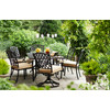 allen + roth Shadybrook Cast Bronze Rectangle Patio Dining Table