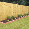 5/8-in x 6-ft x 6-ft Pine Dog-Ear Wood Fence Picket