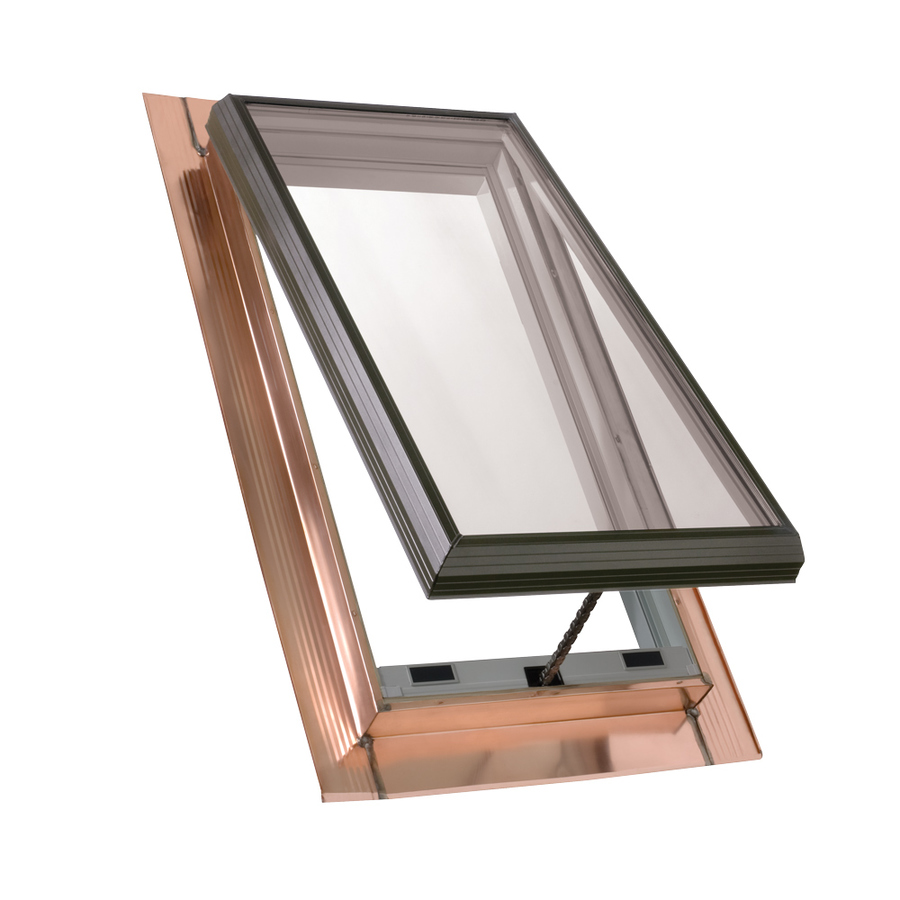 shop velux venting tempered skylight fits rough opening 30 5 in x 45 5 in actual x. Black Bedroom Furniture Sets. Home Design Ideas