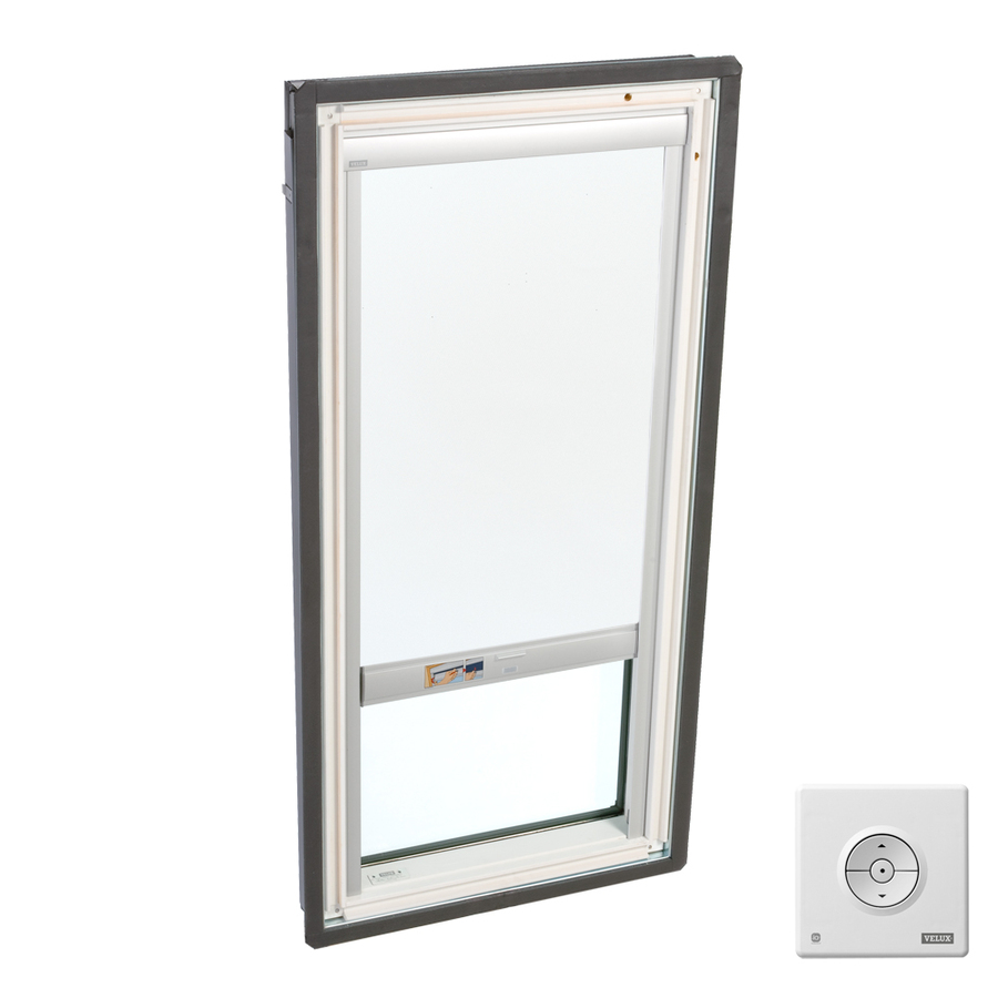 Shop velux fixed laminated skylight with solar powered Velux skylight shade