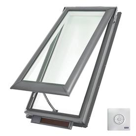 VELUX Solar-Powered Venting Impact Skylight with Shade (Fits Rough Opening: 30.06-in x 54.44-in; Actual: 33.06-in x 57.44-in)