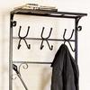Boston Loft Furnishings Black 12-Hook Coat Stand