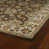 Kaleen Khazana Rectangular Brown Transitional Wool Area Rug (Common: 5-ft x 8-ft; Actual: 5-ft x 7-ft 9-in)