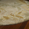 Kaleen Tara Round Cream Nature Wool Area Rug (Common: 4-ft x 4-ft; Actual: 3-ft 9-in x 3-ft 9-in)