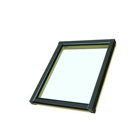 FAKRO Fixed Tempered Skylight with  Shade (Fits Rough Opening: 22.5-in x 26.5-in; Actual: 24-in x 27-in)