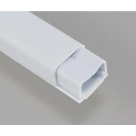Mono-Systems, Inc. 3/4-in x 60-in Multiple White Cord Cover