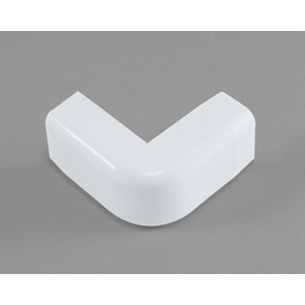 Mono-Systems, Inc. 0.75-in x 0.75-in Low-Voltage White Cord Cover