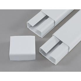 Mono-Systems, Inc. 1-1/2-in x 96-in Multiple White Cord Cover
