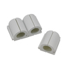 Mono-Systems, Inc. 20-Piece 0.5-in x 1-in White Cord Cover