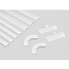 Mono-Systems, Inc. 11-Piece 0.75-in x 336-in White Cord Cover