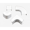 Mono-Systems, Inc. 4-Piece 1.5-in x 1.5-in White Cord Cover