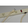 Mono-Systems, Inc. 1-5/8-in x 72-in Low-Voltage Cream Cord Cover