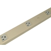 Mono-Systems, Inc. 6-Outlet Metal Power Strip Power Strip