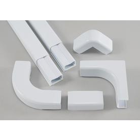 Mono-Systems, Inc. 1-1/2-in x 60-in Low-Voltage Cream Cord Cover