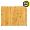 Severe Weather Pressure Treated Pine Wood Fence Panel (Common: 8-ft x 6-ft; Actual: 8-ft x 6-ft)