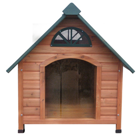 Spotty X-Large Cedar Dog House