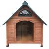 Spotty X-Large Cedar Dog House