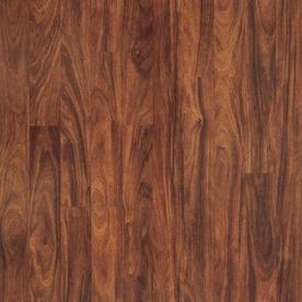 Pergo MAX 7.61-in W x 3.96-ft L Vera Mahogany Smooth Laminate Wood Planks