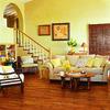 Pergo MAX High Gloss Mahogany Wood Planks Sample (Moneta Mahogany)