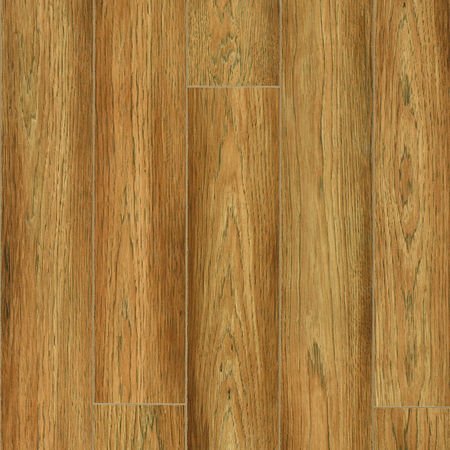 Shop pergo max embossed hickory wood planks sample for Pergo laminate flooring