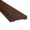SimpleSolutions 3-3/8-in x 94-1/2-in Soft Plum Base Moulding