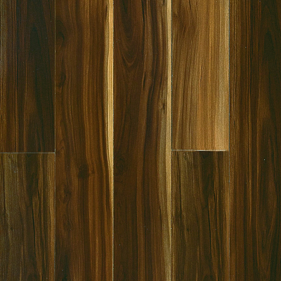 Shop pergo max high gloss walnut wood planks sample for Pergo laminate flooring