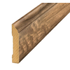SimpleSolutions 3-3/8-in x 94-1/2-in Antique Hickory Base Moulding