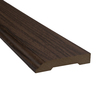 SimpleSolutions 3.3-in x 94.48-in Visconti Walnut Base Floor Moulding