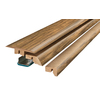 SimpleSolutions 2-3/8-in x 78-3/4-in Antique Hickory 4-N-1 Moulding