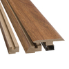 SimpleSolutions 2-3/8-in x 78-3/4-in Visconti Walnut 4-N-1 Moulding
