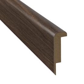 SimpleSolutions 2.37-in x 78.74-in Visconti Walnut Stair Nose Floor Moulding