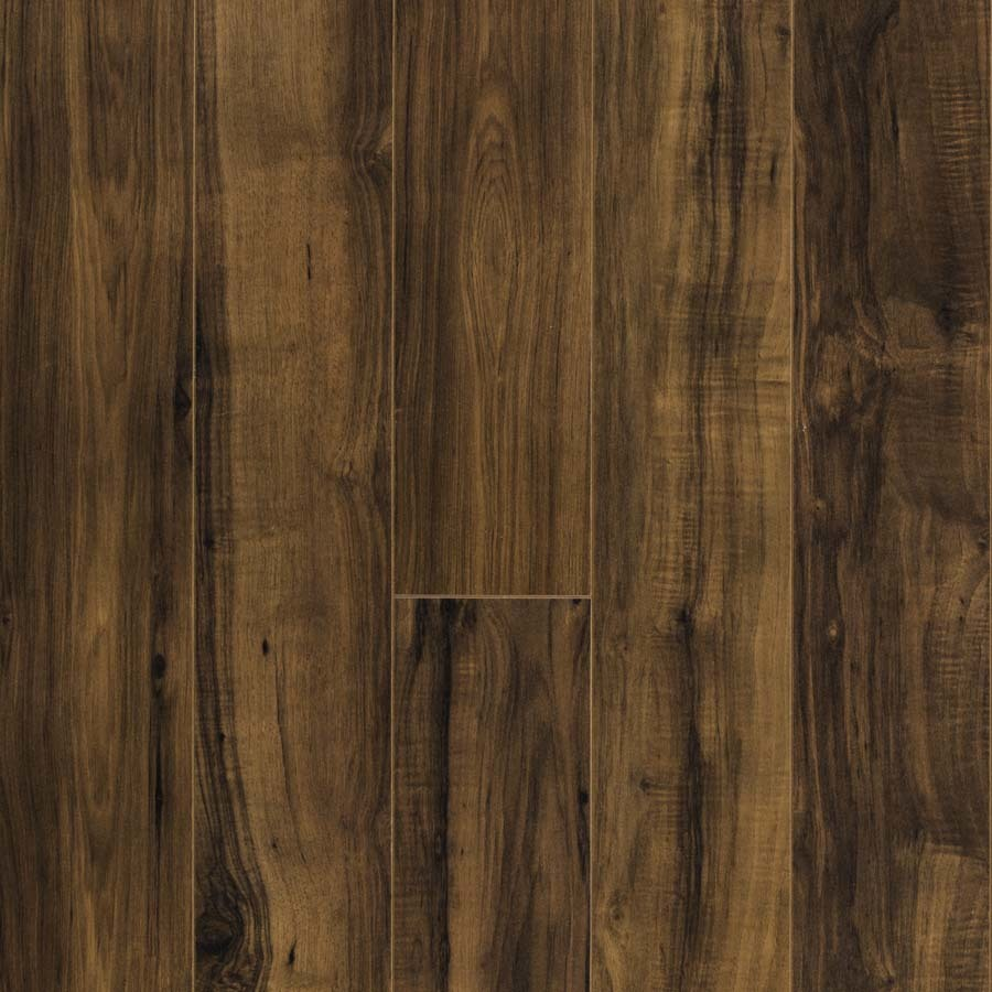 Shop Pergo Max Embossed Pecan Wood Planks Sample Fairview