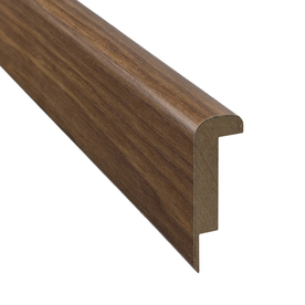 Pergo 2.37-in x 78.74-in Hickory Stair Nose Floor Moulding