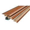 SimpleSolutions 2.37-in x 78.74-in Newland Oak 4-N-1 Floor Moulding