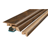 Pergo 2.37-in x 78.74-in Toasted Chestnut Hickory 4-N-1 Floor Moulding