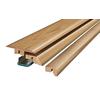 SimpleSolutions 2.37-in x 78.74-in Honey Maple 4-n-1 Floor Moulding