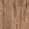 Pergo MAX 5.23-in W x 3.93-ft L Providence Hickory Handscraped Laminate Floor Wood Planks