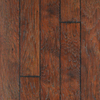 Style Selections PLUS 6.14-in W x 4.52-ft L Hs Barrel Hickory Handscraped Laminate Floor Wood Planks